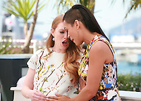 Mireille Enos, Rosario Dawson  at the photocall for the film Captives at the 67th Cannes Film Festival, Friday 16th May 2014, Cannes, France.