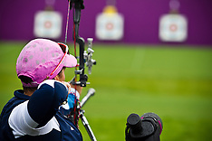 LONDON 2012 PARALYMPICS ARCHERY