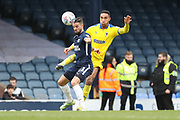 AFC Wimbledon defender Terell Thomas (6) battles for possession with Southend United midfielder Stephen McLaughlin (11) during the EFL Sky Bet League 1 match between Southend United and AFC Wimbledon at Roots Hall, Southend, England on 16 March 2019.