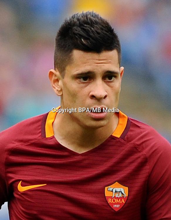 Italian League Serie A -2016-2017 / <br /> ( AS Roma ) - <br /> Juan Manuel Iturbe Arevalos &quot; Juan Manuel Iturbe &quot;