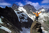 Verwall Gruppe, Ischgl, Austria, July 2004. Trekking from hut to hut in the Verwall Gruppe is a strenuous adventure, however no knowledge of technical mountaineering is necessary. Photo by Frits Meyst/Adventure4ever.com