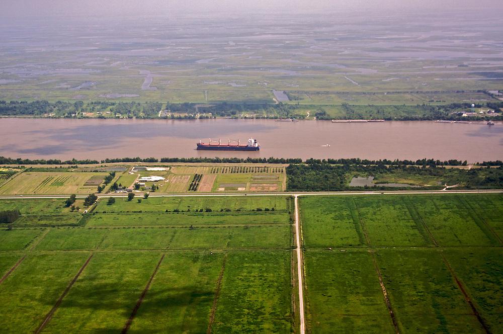 Mississippi River Near Port Sulphur, LA