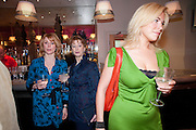 KELLY PRICE; MAUREEN LIPMAN; HANNAH WADDINGHAM; , The Society of London Theatre lunch for all the nominees for the 2010 Laurence Olivier Awards. Haymarket Hotel, 1 Suffolk Place, London, 2 March 2010