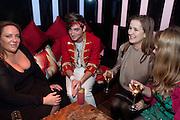 ANNABEL RIFKIN; RICHARD DENNEN; CATHERINE OSTLER, The Tatler Little Black Book party. Chinawhite club. London. 21 November 2009