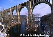 Tunkhannock Viaduct (also known as the Nicholson Bridge), Tunkhannock Creek, Nicholson, Wyoming Co., NE PA