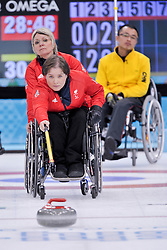 Aileen Neilson, Angie Malone, Qiang Zhang, Wheelchair Curling Finals at the 2014 Sochi Winter Paralympic Games, Russia