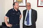 DESCRIZIONE : Roma Coni Conferenza Stampa Nazionale Italia Under 18 Maschile Basket On Board sulla portaerei Cavour<br /> GIOCATORE : Andrea Capobianco Gaetano Laguardia<br /> CATEGORIA : curiosita ritratto<br /> SQUADRA : Fip <br /> EVENTO : Conferenza Stampa Nazionale Italia Under 18<br /> GARA : <br /> DATA : 09/07/2012 <br />  SPORT : Pallacanestro<br />  AUTORE : Agenzia Ciamillo-Castoria/GiulioCiamillo<br />  Galleria : FIP Nazionali 2012<br />  Fotonotizia : Roma Coni Conferenza Stampa Nazionale Italia Under 18 Maschile Basket On Board sulla portaerei Cavour<br />  Predefinita :