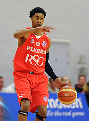 Bristol Flyers' Bree Perine - Photo mandatory by-line: Dougie Allward/JMP - Mobile: 07966 386802 - 18/04/2015 - SPORT - Basketball - Bristol - SGS Wise Campus - Bristol Flyers v Leeds Force - British Basketball League