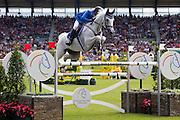 Alvaro de Miranda - AD Ashleigh Drossel Dan<br /> World Equestrian Festival, CHIO Aachen 2012<br /> © DigiShots