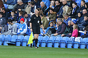 Sian Massey-Ellis during the EFL League 1 match between Peterborough United and AFC Wimbledon at ABAX Stadium, London Road, Peterborough, England on 22 October 2016. Photo by Stuart Butcher.