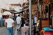 The flea market in Jaffa, Israel