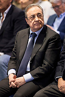 Real Madrid's president Florentino Perez during the appearance of retirement as profesional basketball player at Stadium Santiago Bernabeu in Madrid, Spain. April 04, 2017. (ALTERPHOTOS/BorjaB.Hojas)