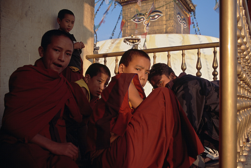 Swayambunath Pagoda; Kathmandu, Nepal<br /> Nepal In Focus