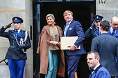 Nieuwjaarsreceptie koning Willem-Alexander en koningin Maxima