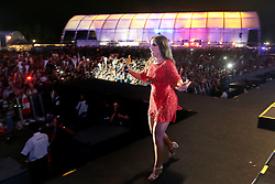Ivete Sangalo no palco principal do Planeta Atlântida 2014/SC, que acontece nos dias 17 e 18 de janeiro de 2014 no Sapiens Parque, em Florianópolis. FOTO: Jefferson Bernardes/ Agência Preview