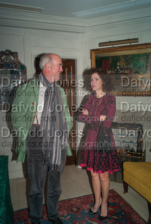 CHARLES SAUMERAZ SMITH; MOLLIE DENT-BROCKLEHURST, Dinner to celebrate the opening of Pace London at  members club 6 Burlington Gdns. The dinner followed the Private View of the exhibition Rothko/Sugimoto: Dark Paintings and Seascapes.