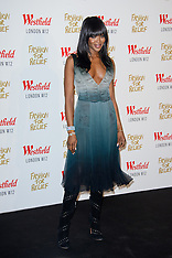 NOV 27 2014 Naomi Campbell Launches Fashion For Relief Pop-Up at Westfield