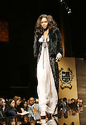 Model at The 2009 Fall Baby Phat Fashion Show held at Gotham Hall on February 17, 2009 in New York City.