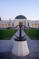 Sundial at Griffith Observatory, Los Angeles, California
