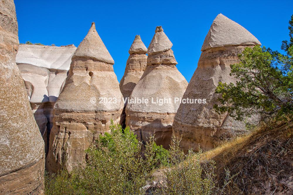 Kasha-Katuwe Tent Rocks National Monument, New Mexico USA