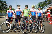 Tour of Thailand 2015/ Stage2/ Buri Ram - Roi-Et/ Seoul Cycling/