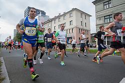 Maurizio Deriu during 19th Ljubljana Marathon 2014 on October 26, 2014 in Ljubljana, Slovenia. Photo by Urban Urbanc / Sportida.com