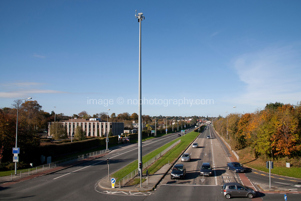 N11 dual carriageway road at Cabinteely in Dublin Ireland