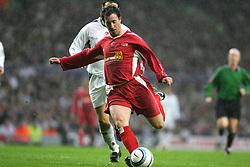 LIVERPOOL, ENGLAND - SUNDAY MARCH 27th 2005: Liverpool Legends' Robbie Fowler during the Tsunami Soccer Aid match at Anfield. (Pic by David Rawcliffe/Propaganda)