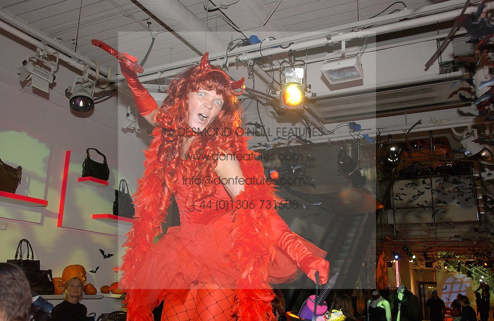 Atmosphere at a party to celebrate the launch of DKNY Kids and Halloween in aid of CLIC Sargent and RX Art held at DKNY, 27 Old Bond Street, London on 31st October 2006.<br /><br />NON EXCLUSIVE - WORLD RIGHTS