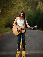 Promo shots of musician Michelle McAfee (Photo by Matthew Ginn © 2012)