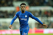 Callum Hudson-Odoi (#20) of Chelsea during the Premier League match between Newcastle United and Chelsea at St. James's Park, Newcastle, England on 18 January 2020.