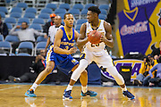 During the 2016 MEAC Men's and Women's Basketball Championships at the Scope Arena in Norfolk, Virginia.  March 07, 2016.  (Photo by Mark W. Sutton)
