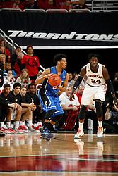 Duke guard Quinn Cook. <br /> <br /> The University of Louisville hosted Duke University, Saturday, Jan. 17, 2015 at The Yum Center in Louisville. <br /> <br /> Duke won the game 63-52.