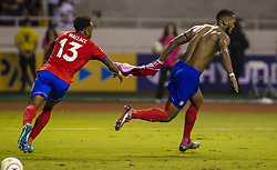 October 7, 2017 - Oct 7 2017 San Jose Costa Rica  Costa Rica V Honduras for the World Cup elimination game CONCACAF at National Stadium 1-1 score to have Costa Rica clinch a spot for the FIFA World Cup in Russia 2018 (Credit Image: © Victor Baldizon/ZUMA Wire/ZUMAPRESS.com)