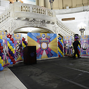Circus performs at Newark City Hall 2015