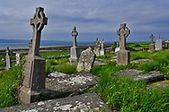 Kilmacreehy or Saint MacCreiche Church is one of the oldest church ruins in Co. Clare, Ireland. Founded in the 16th century alongside the shore near Liscannor city.