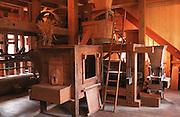 Deutschland, Germany,Baden-Wuerttemberg.Schwarzwald.Seelbach, Glatz Mühle (Museumswassermühle) an der Schutter: Getreidemühle.Seelbach, water mill museum, corn mill...