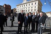 DESCRIZIONE : Roma Palazzo Chigi Commissione FIBA in visita per assegnazione dei Mondiali 2014<br /> GIOCATORE : Boris Stankovic Markus Studar Predrag Bogosavljev Massimo Blasetti Dino Meneghin Maurizio Bertea<br /> SQUADRA : Fiba Fip<br /> EVENTO : Visita per assegnazione dei Mondiali 2014<br /> GARA :<br /> DATA : 03/04/2009<br /> CATEGORIA : Ritratto<br /> SPORT : Pallacanestro<br /> AUTORE : Agenzia Ciamillo-Castoria/G.Ciamillo