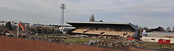 13/11/2017, Demolition of the Ground of Kettering Town Football Club, to make way for 88 Houses, the club was formed in 1872 and moved into the Rockingham Road Ground 120 years ago in 1897.