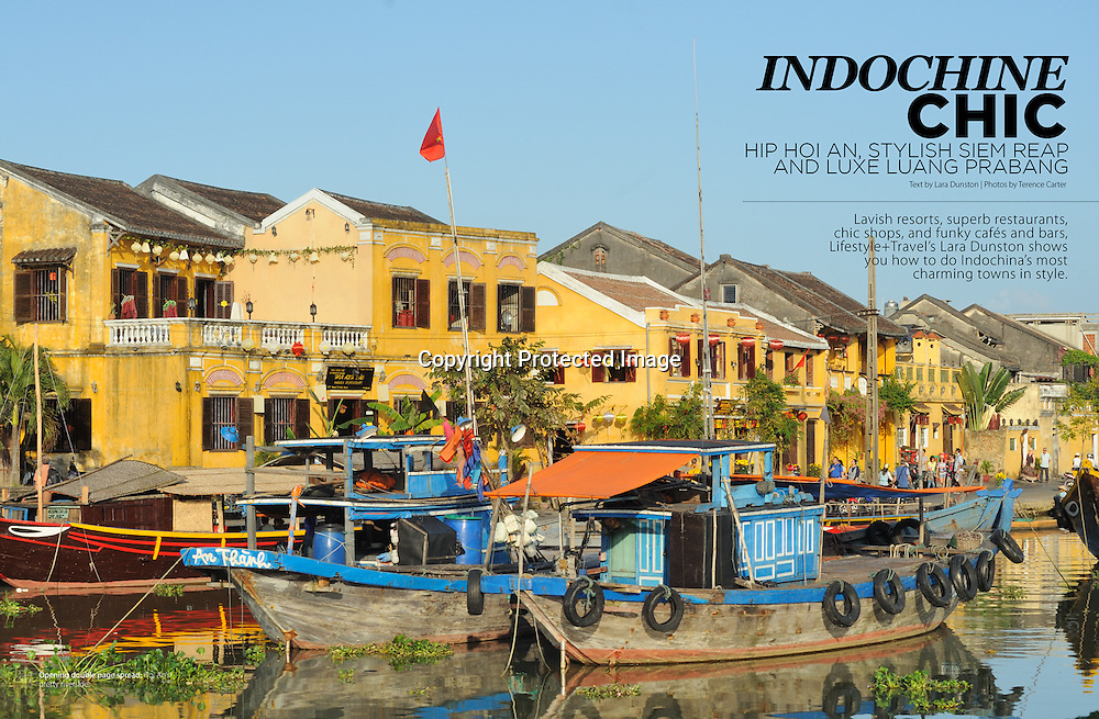 Lifestyle+Travel Magazine, Indochine Chic.
