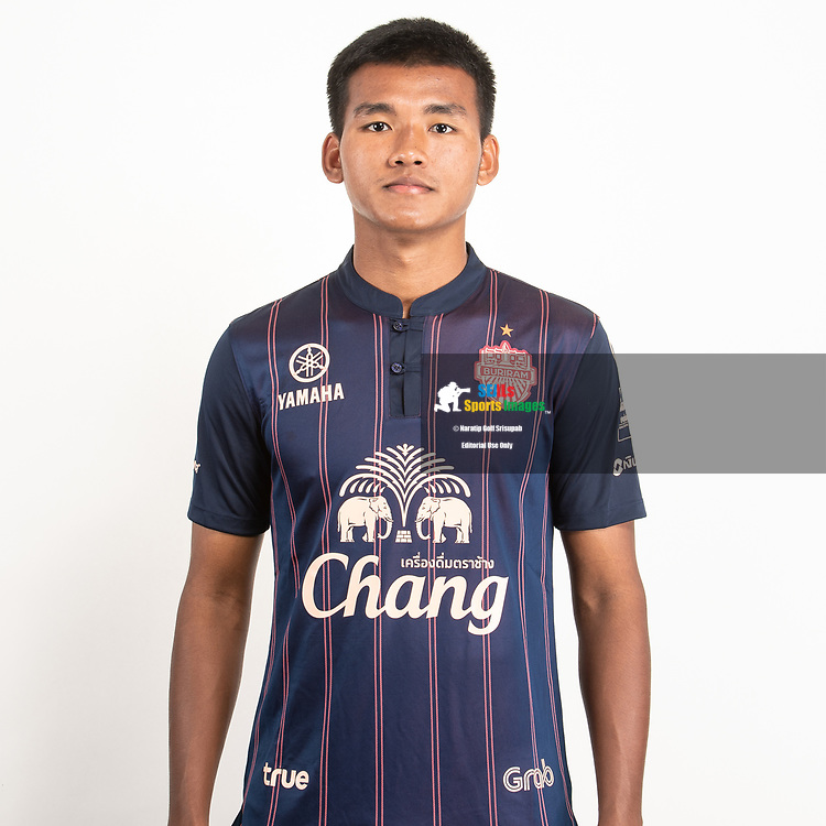 THAILAND - JUNE 26: Kritsana Daokrajai #50 of Buriram United on June 26, 2019.<br /> .<br /> .<br /> .<br /> (Photo by: Naratip Golf Srisupab/SEALs Sports Images/MB Media Solutions)