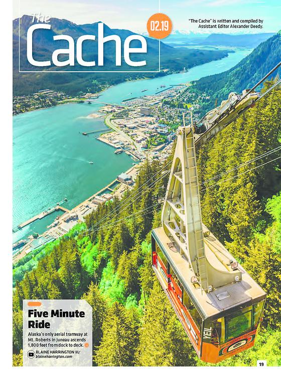 Alaska Magazine, Juneau, Cable Car, Blaine Harrington III