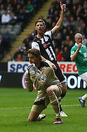 Picture by Paul Chesterton/Focus Images Ltd.  07904 640267.18/03/12.Tim Krul of Newcastle in action during the Barclays Premier League match at St James' Park Stadium, Newcastle.
