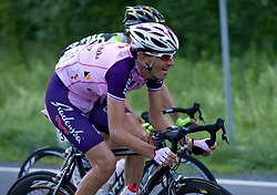 Mitja Mahoric  (SLO) of Radenska KD Financial point  at 1st stage of Tour de Slovenie 2009 from Koper (SLO) to Villach (AUT),  229 km, on June 18 2009, in Koper, Slovenia. (Photo by Vid Ponikvar / Sportida)