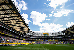 General View - Photo mandatory by-line: Rogan Thomson/JMP - 07966 386802 - 30/05/2015 - SPORT - RUGBY UNION - London, England - Twickenham Stadium - Bath Rugby v Saracens - 2015 Aviva Premiership Final.