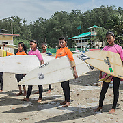 BANGLADESH: THE SURFER GIRLS