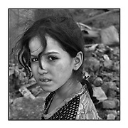 Faces of Mosul<br /> <br /> A collection of images from 4 time Pulitzer prize winning photographer Carol Guzy, gives us a glimpse into the faces of those affected by the fierce conflict with ISIS in Mosul. Wounded and weak, most who survived now face an uncertain future in the limbo of IDP camps. Shattered lives, lost loved ones and escape from the rubble of collapsed homes and the evil of ISIS doctrine, leaves scars of emotional trauma even more difficult to heal. The war in Mosul is over, but the humanitarian crisis continues.<br /> <br /> Mosul, Iraq - Civilians, many wounded and weak, arrive at a medical Trauma Stabilization Point near the Old City as they flee the fierce battle with ISIS in West Mosul amid ruins of the city. Those not severely injured continue walking after being checked for suicide bombs and are then transported<br />  &copy;Carol Guzy/zReportage.com/Exclusivepix Media