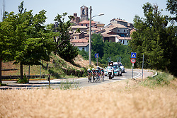 Eurotarget - Bianchi - Vittoria at Stage 1 of 2019 Giro Rosa Iccrea, an 18 km team time trial from Cassano Spinola to Castellania, Italy on July 5, 2019. Photo by Sean Robinson/velofocus.com