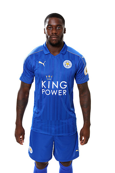 LEICESTER, ENGLAND - JULY 21:  Jeff Schlupp during Leicester City Official Portraits at Belvoir Drive Training Complex on July 21 , 2016 in Leicester, United Kingdom.  (Photo by Plumb Images/Leicester City FC via Getty Images)