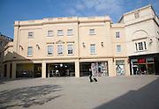 New Neo-Georgian buildings, Southgate shopping centre, Bath